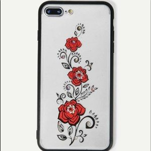 *New* iPhone X red roses case